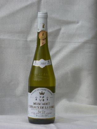 Muscadet Coteaux de la Loire  sur lie 2015 Domaine Du Champ Chapron